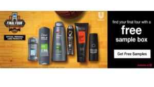 Expired:Free Unilever Sample Box – Axe, Degree or Dove!