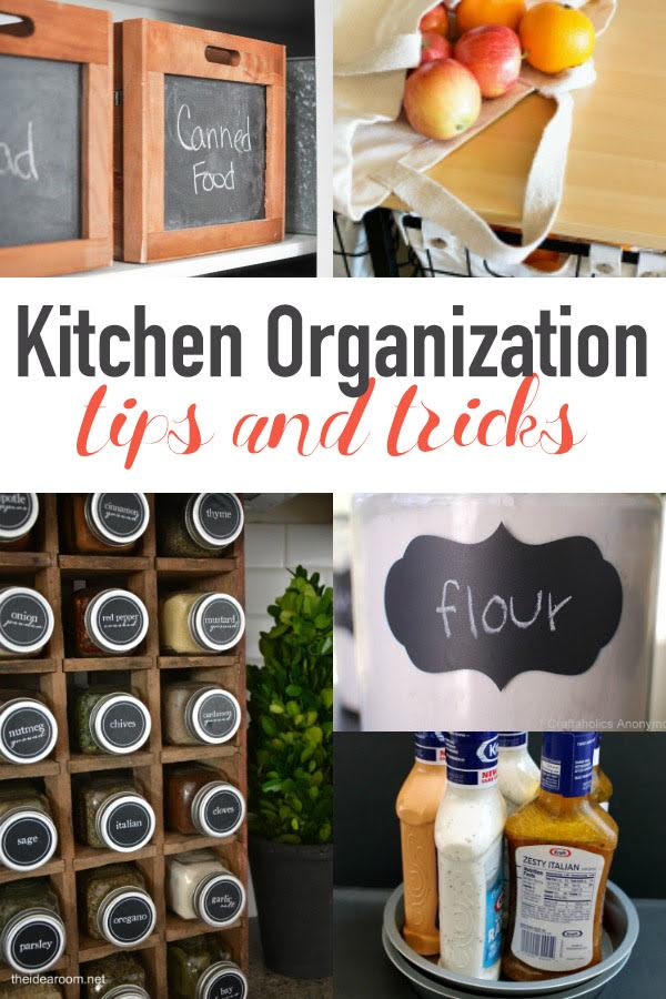 20 Kitchen Organization Tips And Tricks
