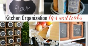 20 Kitchen Organization Tips and Tricks