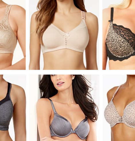 Macy's Bra Sale Only $10-$14 (Regular up to $42): Includes Extended Sizes