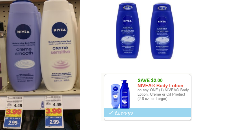 Nivea Creme Body Wash Only $1 at Kroger or Dollar General