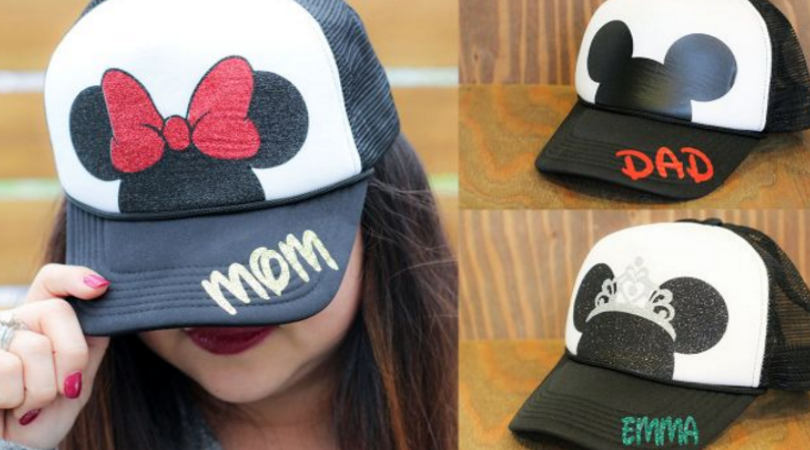 Disney Personalized Hats Only $9.99 (Regular $26): Today Only - Dixie ...
