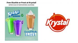 Free Kool-Aid Slushie or Caramel Mocha Frost at Krystal: Text Offer