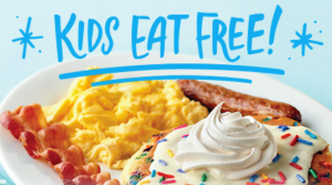 Kids Eat Free Every Night at IHOP – Limited Time Offer