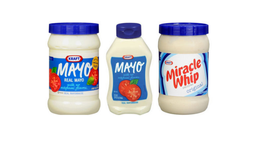 new kraft mayo or miracle whip coupons only 1 50 at kroger or