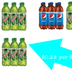 Pepsi and Mtn Dew 6 pk. Bottles Only $1.67 at Dollar General