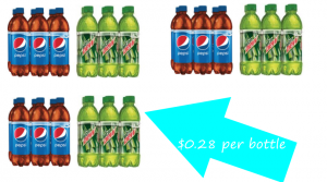 Pepsi and Mtn Dew 6 pk. Bottles Only $1.67 at Dollar General Saturday Only