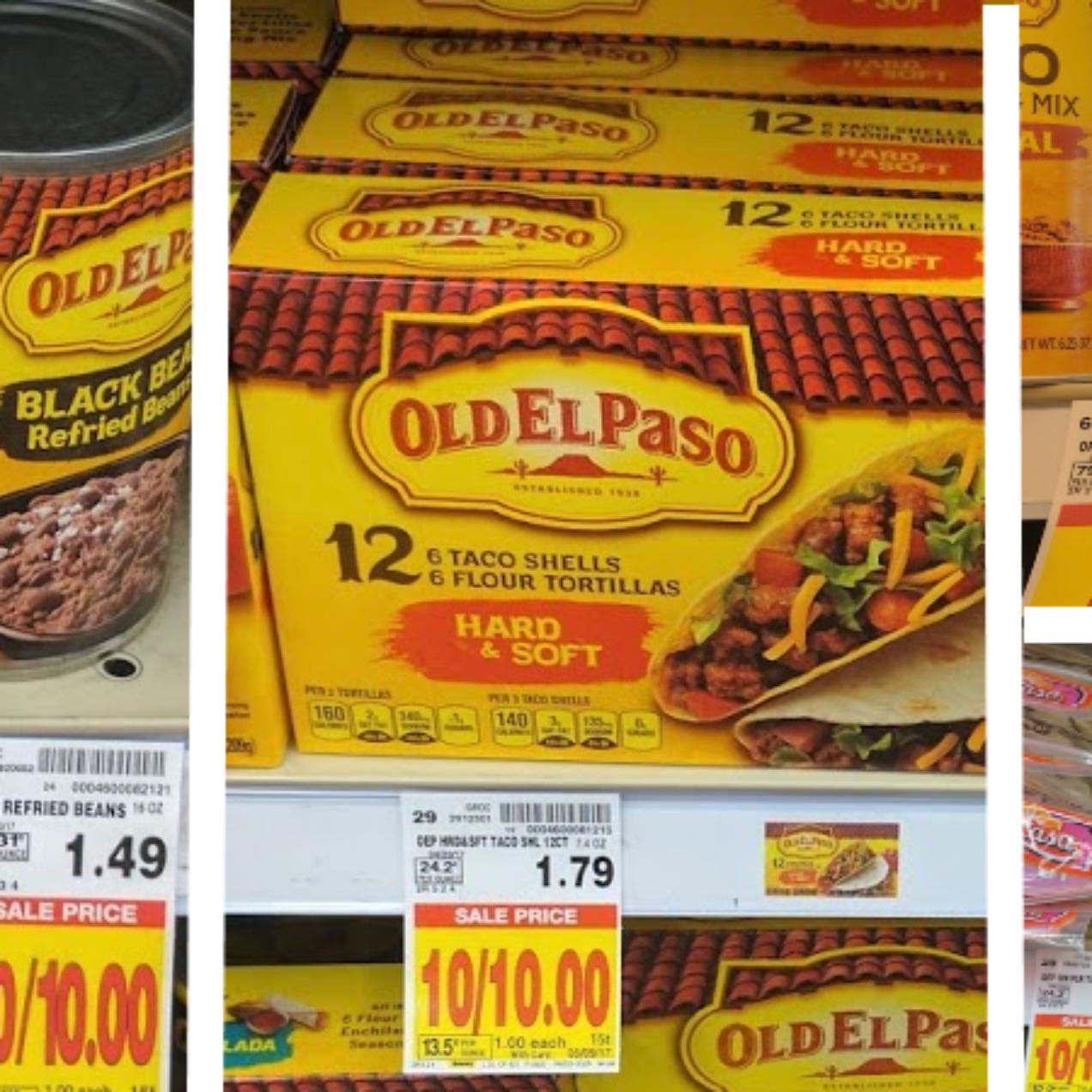 Old El Paso Shells Only $0.50 at Kroger