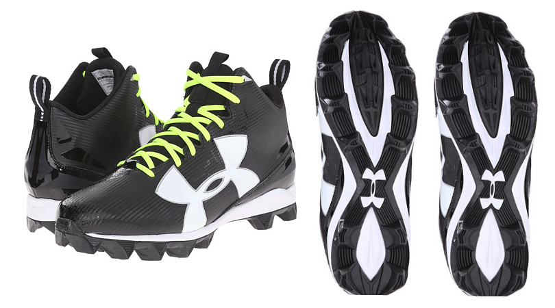 19db7bf5c233 Hurry over to 6pm.com and checkout these Under Armour UA Crusher RM Football  Cleats on sale ...