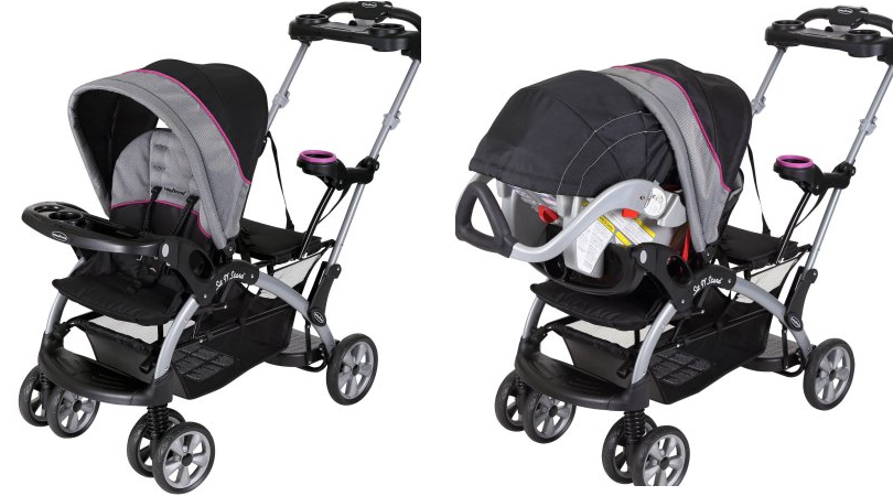 Baby Trend Sit N Stand Ultra Double Stroller Only 69 96 137 Value