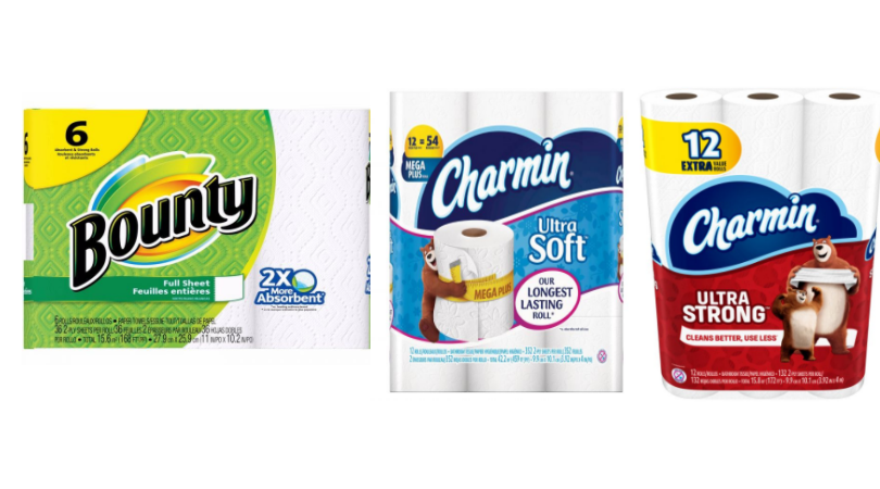 photograph regarding Charmin Printable Coupon known as Bounty 6 Rolls or Charmin 12 More Price Rolls Merely $2.65 at