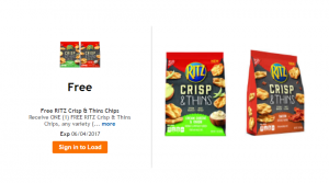 Free Ritz Crisp & Thins Chips – Kroger Free Friday Download
