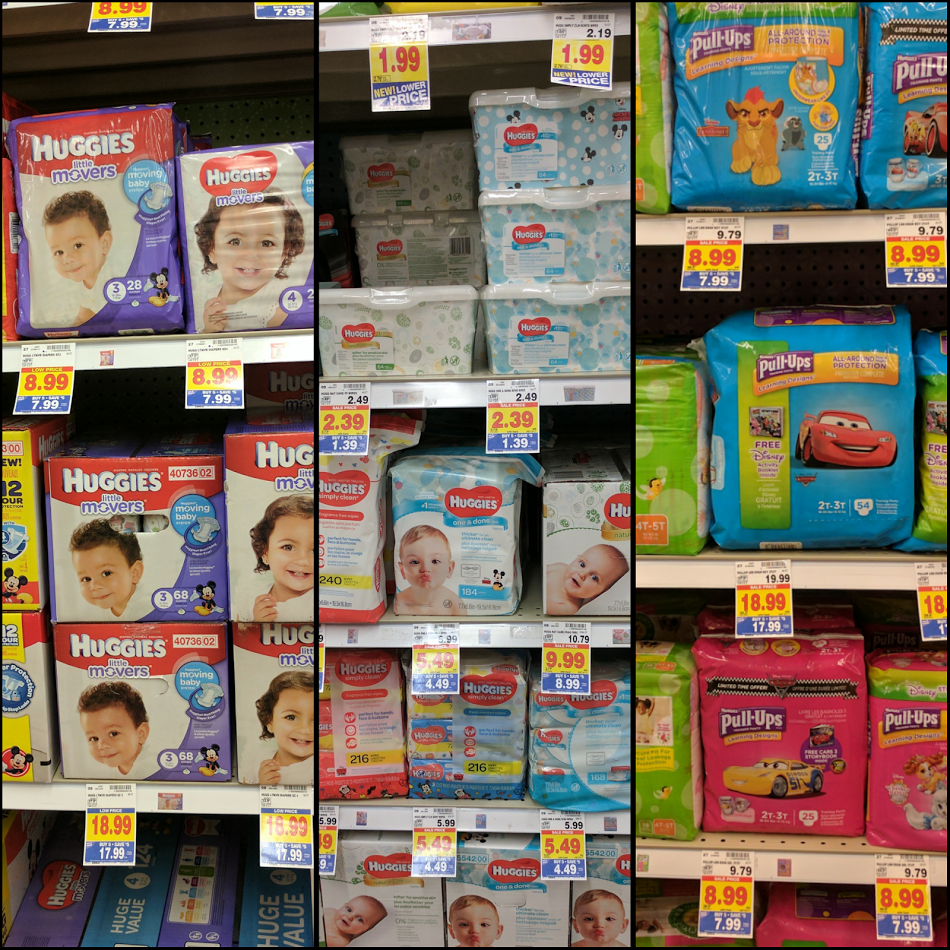 Three Packs Of Huggies Diapers Two Tubs Of Wipes Only
