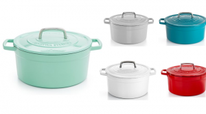Martha Stewart Collection Collector's Enameled Cast Iron 6 Qt. Casserole Only $49.99 (Regular $179.99)