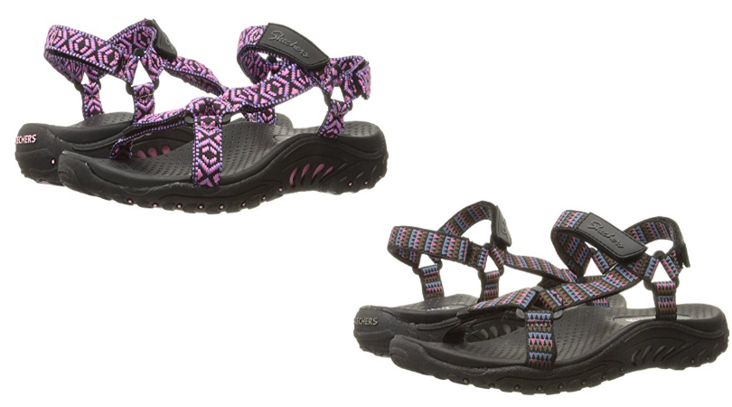 a6510433278b Looking for a great deal on a highly rated sandal for this summer  Hurry  over to Amazon and check out these Skechers Women s Reggae Misty Morning  Sandals!