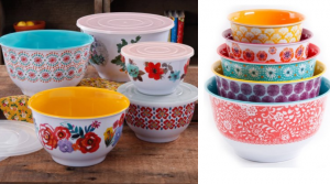The Pioneer Woman Nesting Mixing Bowl 10-Piece Set Only $25 (Regular $49)