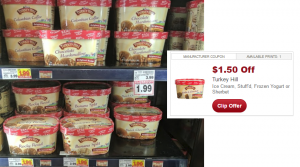 Turkey Hill Ice Cream Only $0.49 at Kroger