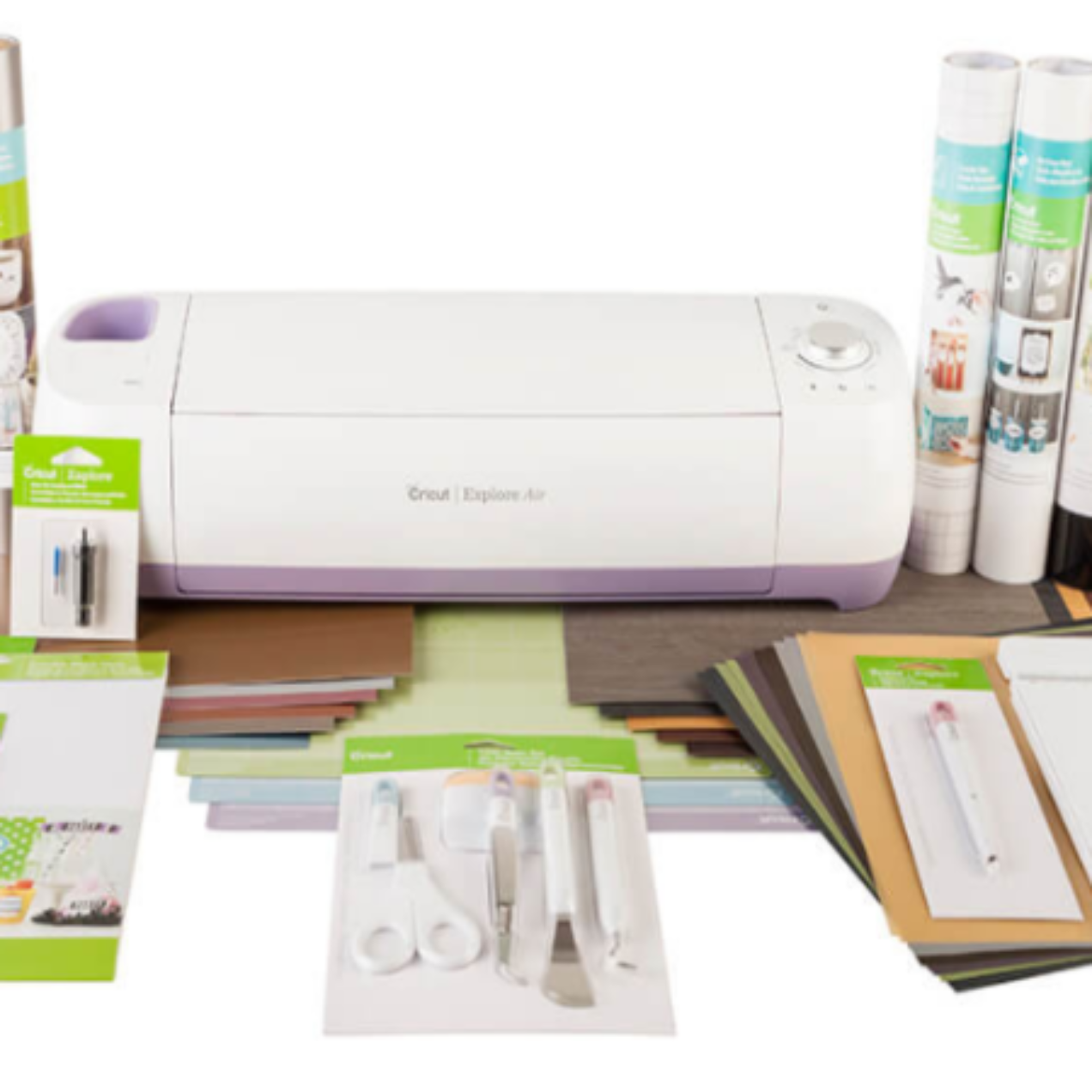 Cricut Explore Air Wild Orchard Machine + EVERYTHING Starter Set Only $269.99 (Regular $545.77)