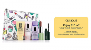 Clinique 6-Pc. All-Stars Set Only $10 ($70 Value) + Receive a $10 Clinique Credit