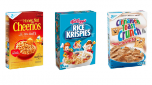 Kellogg's and General Mills Cereal Only $1.60 Shipped