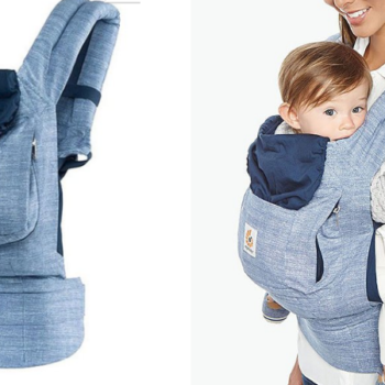 Ergobaby Blue Ergonomic Multi Position Baby Carrier Only