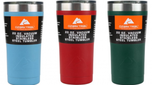 Two Ozark Trail 20-Ounce Stainless Steel Cups Only $8.52 Shipped (Just $4.26 Per Cup!)