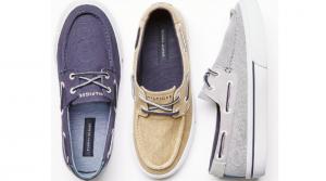 Tommy Hilfiger Men's Pharis Canvas Boat Shoes Only $24.99 (Regular $60)
