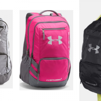 Hurry over to Under Armour for their Semi-Annual Sale event! I spotted  these Under Armour Storm Hustle II Backpacks on sale for  27.19 (regular   54.99). 680fab53fe