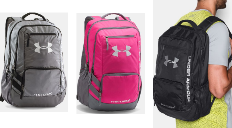f2f275d63aae Hurry over to Under Armour for their Semi-Annual Sale event! I spotted  these Under Armour Storm Hustle II Backpacks on sale for  27.19 (regular   54.99).