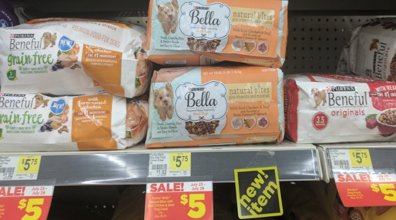 03fb7527488 Dollar General has bags of Beneful Dog Food on sale for $5 this week! Stack  high value printable, digital and a store coupon to drop that price to just  $1.
