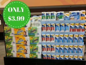 Hot Deals On Bounty and Charmin at Kroger: Only $3.99 (Regular $9.99)