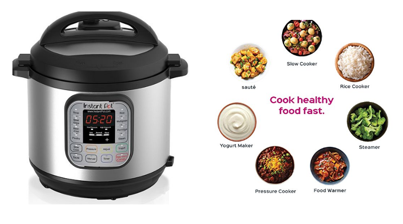 Image result for Do more for less with 50% off this 6-quart Instant Pot LUX multi-cooker