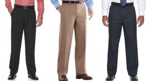Big & Tall Croft & Barrow Dress Pants Only $11.65 (Regular $55)