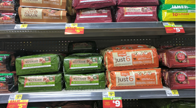 picture regarding Printable Rachael Ray Dog Food Coupons referred to as 4 Luggage Of Rachael Ray Puppy Merely $2.40 at Greenback Total 7