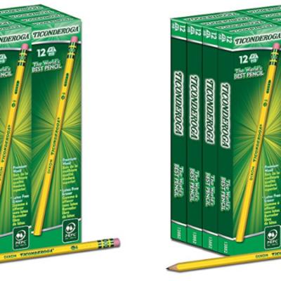 Dixon Ticonderoga #2 Pencil, 96 Ct – Deal!