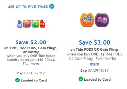 Gain digital coupons