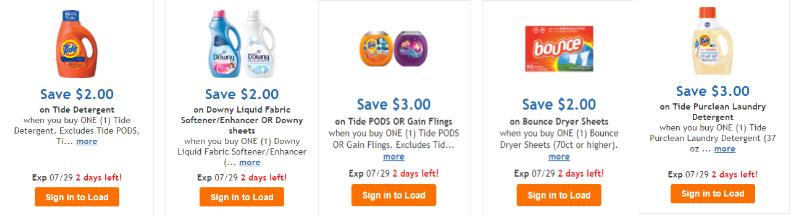 Tide digital coupons