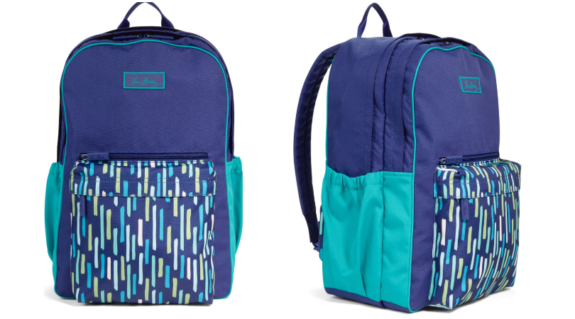 e557c71a997d Hurry and grab a smoking hot deal on this Vera Bradley Large Colorblock  Backpack! Right now select Vera Bradley items are on sale up to 70% off and  you will ...
