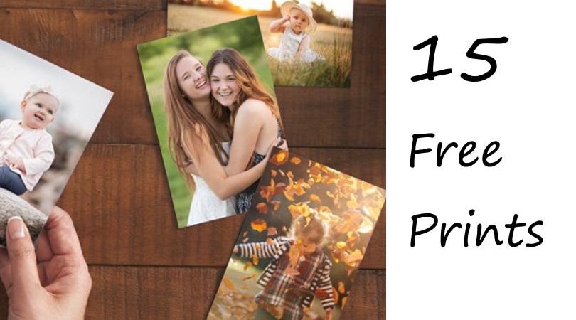 15 Free 4x6 Photo Prints Free Shipping