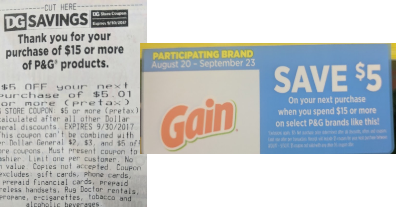 Score Over 36 In Gain Products For Just 1040 With Dollar General