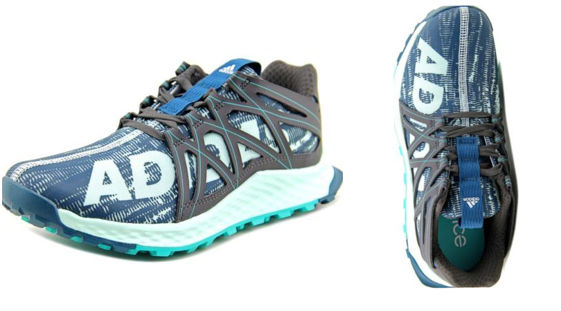 3706f54c65a27 I spotted these Adidas Vigor Bounce Women Round Toe Synthetic Green Running  Shoes ...