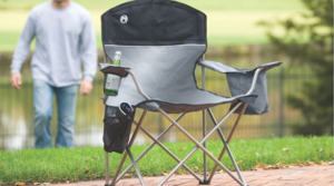 Coleman Oversized Chair With Built-In Cooler Only $17!