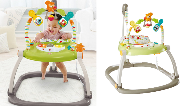 2123cf69a50f Fisher-Price SpaceSaver Jumperoo Only  31.79 (Regular  69.99)