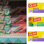 Free Glad Storage Bags at Dollar General, Dollar Tree, Walmart & More!