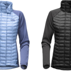 The North Face Thermoball Women's Hybrid Insulated Jacket Only $86.38 (Regular $179.95)