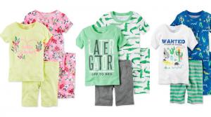 Carter's Infant 4-Piece Cotton Pajama Sets Only $7.56 (Regular $34)