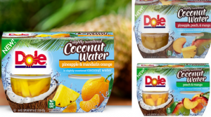 New $1/1 Dole Fruit & Coconut Water = Only $0.24 at Walmart!