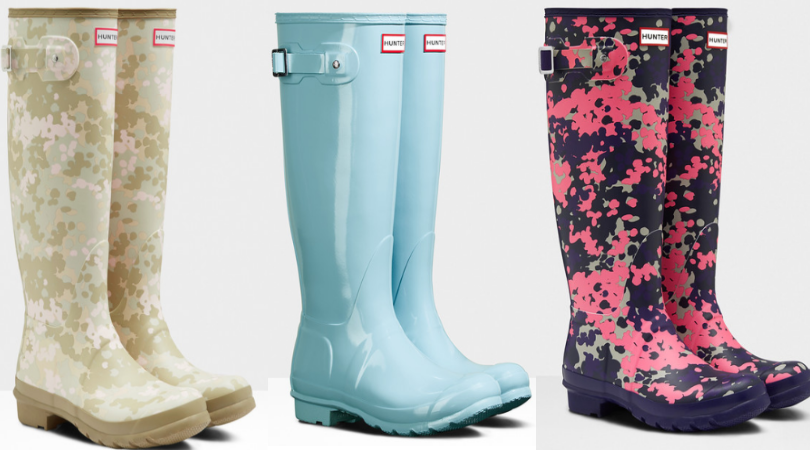 14db8d6da79 Women's Tall Hunter Rain Boots Only $71.96 Shipped (Regular $150)