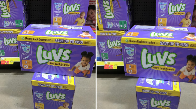 Luvs Boxed Diapers Only 11 75 With Dollar General Digital