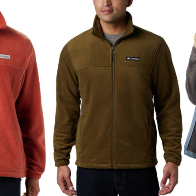 Columbia Men's Steins Mountain Full Zip 2.0 Fleece Deal – Includes Big & Tall Sizes up to 5X!